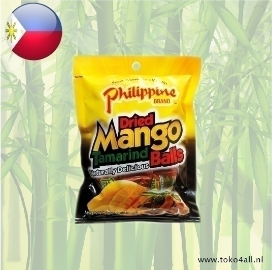Toko 4 All - Dried Mango Tamarind Balls 100 gr Philippine Brand