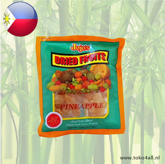 Toko 4 All - Dried Pineapple 100 gr Jojos