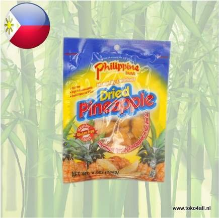 Toko 4 All - Dried Pineapple 100 gr Philippine Brand