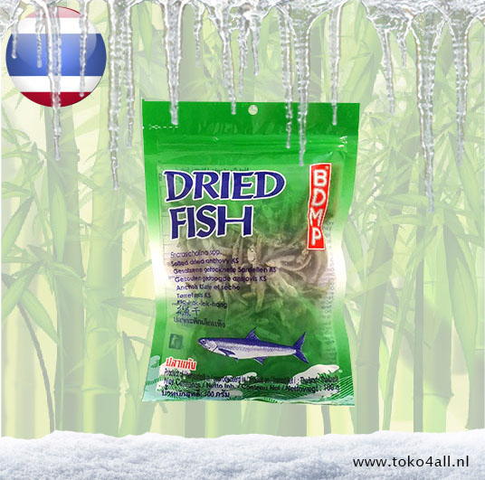 Toko 4 All - Dried Salted Anchovy 100 gr BDMP