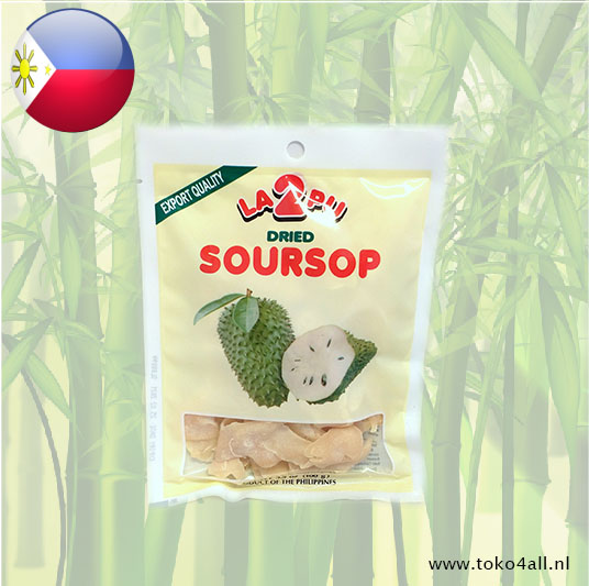 Toko 4 All - Dried Soursop 100 gr La2Pu