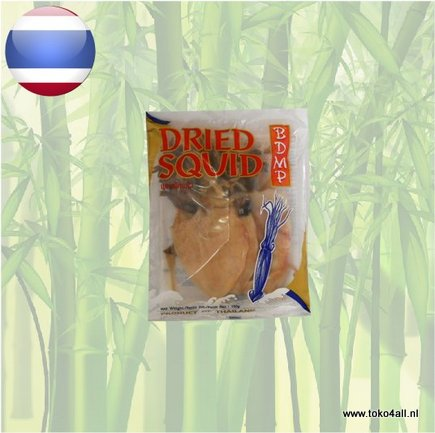 Dried Squid With Skin 100 gr Bdmp