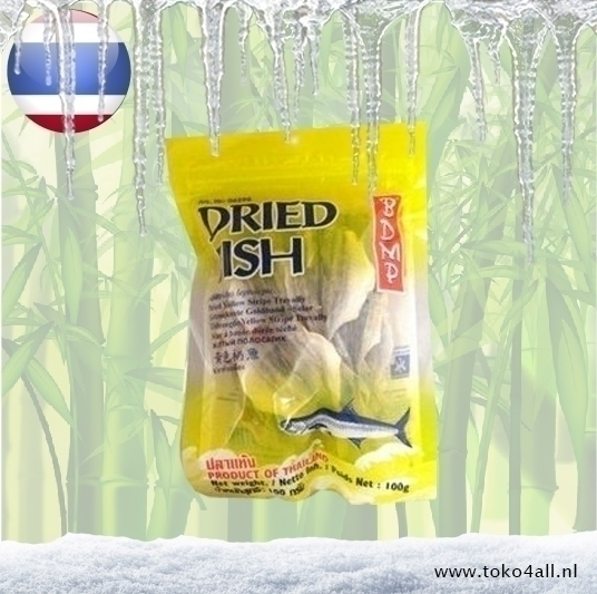 Toko 4 All - Dried Trevally fish 100 gr BDMP