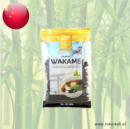Toko 4 All - Dried Wakame Seaweed 100 gr Golden Turtle Brand
