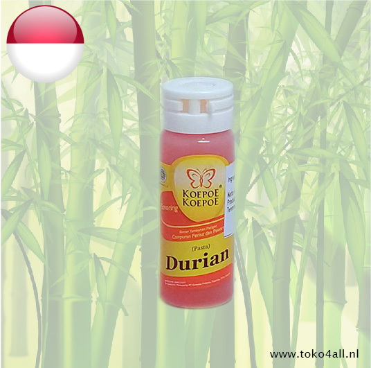 Toko 4 All - Durian Paste 25 ml Koepoe Koepoe