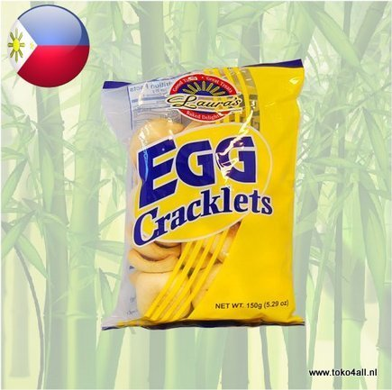 Toko 4 All - Egg Cracklets 150 g Laura