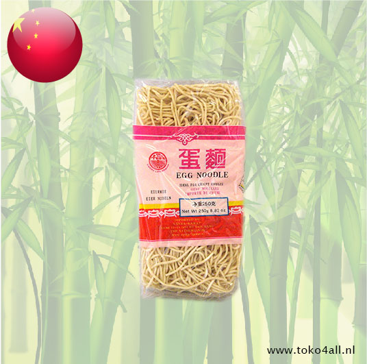 Toko 4 All - Egg Noodles 250 gr Lucky Life Brand