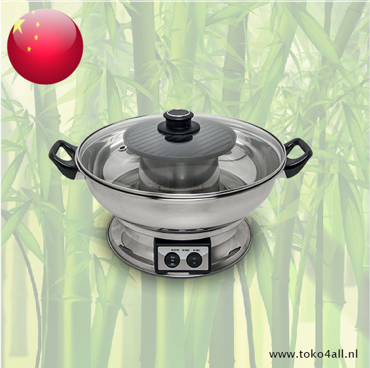 Toko 4 All - My Little Philippines - Electric hot pot with grill plate 3,8 ltr Remo
