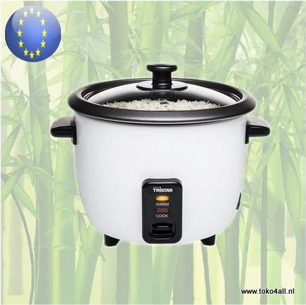 Toko 4 All - Electric Rice Cooker stainless steel RK-6117 Tristar
