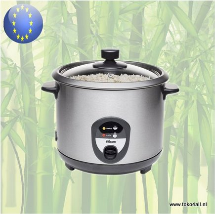 Toko 4 All - Electric Rice Cooker stainless steel RK-6127 Tristar
