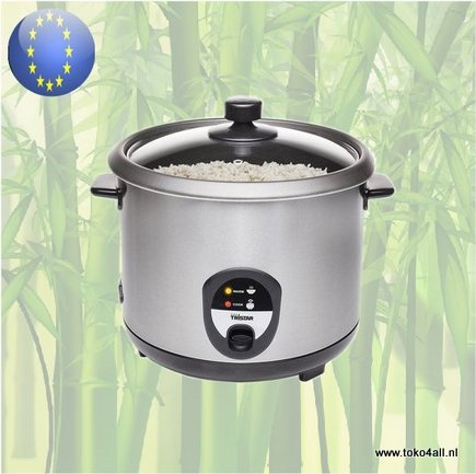 Toko 4 All - Electric Rice Cooker stainless steel RK-6129 Tristar