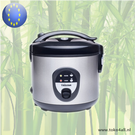 Toko 4 All - Electric Rice Cooker stainless steel RK-6135 Tristar