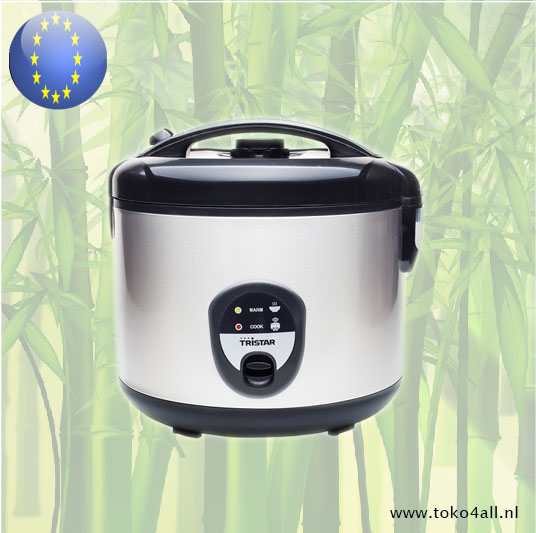 Toko 4 All - Electric Rice Cooker stainless steel RK-6136 Tristar