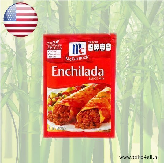 Toko 4 All - Enchilada sauce mix 42 gr McCormick