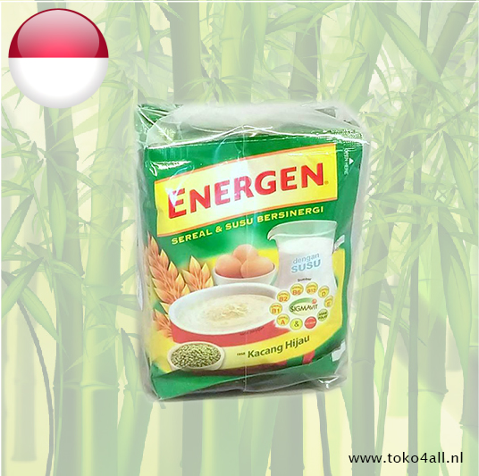 Toko 4 All - Energen Green beans and cereal drink 10 x 30 gr Mayora