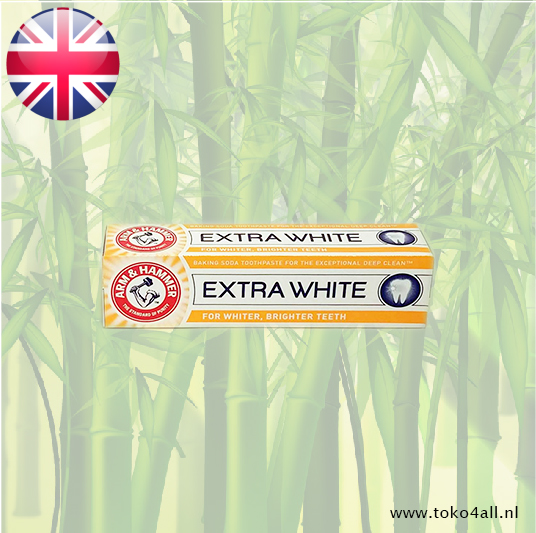 Toko 4 All - Extra White Toothpaste 125 gr Arm And Hammer