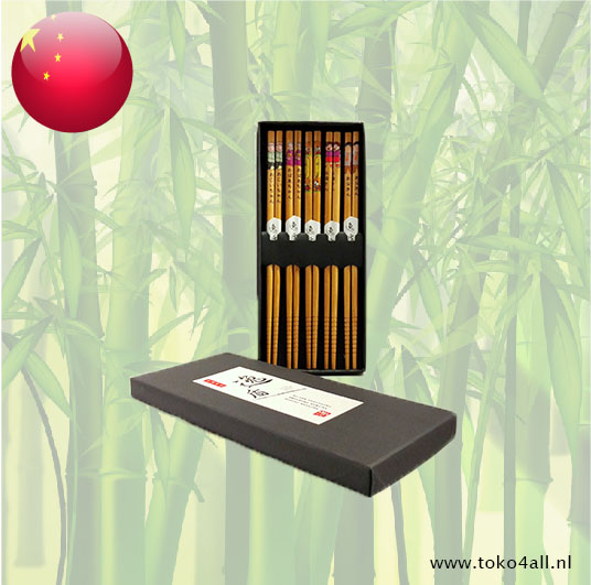 Toko 4 All - Family Style Chopsticks Brown 24 cm Utage Irodori Baghi