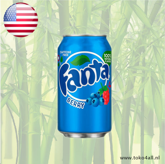 Toko 4 All - My Little Philippines - Fanta Berry 355 ml Coca Cola Company