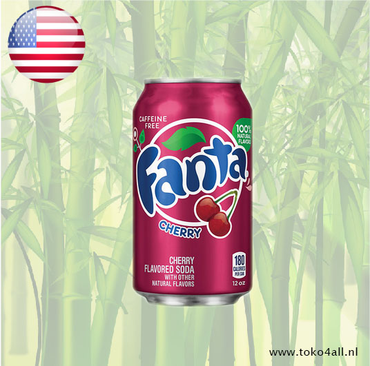 Toko 4 All - My Little Philippines - Fanta Cherry 355 ml Coca Cola Company