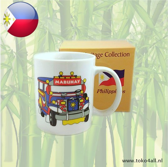Toko 4 All - Filipijnse Beker Jeepney Heritage Collection