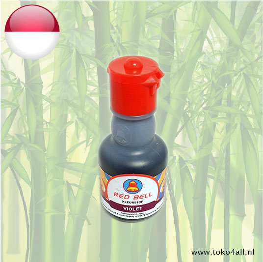Toko 4 All - My Little Philippines - Food Colouring Violet 30 ml Red Bell