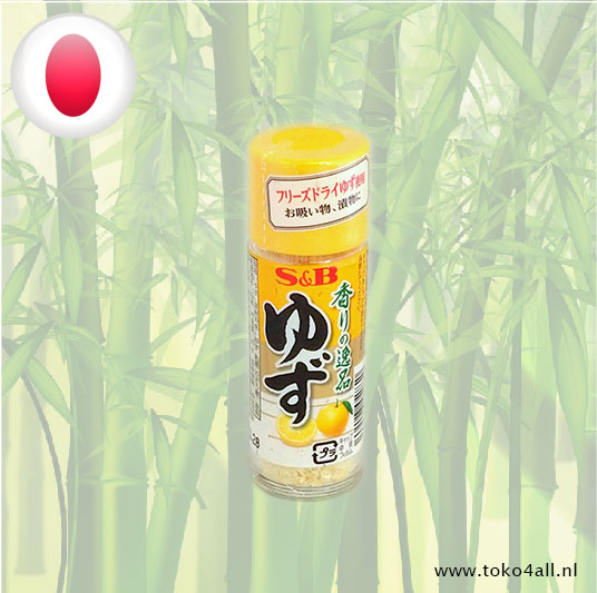 Toko 4 All - Freeze dried Yuzu Powder 4,5 gr S&B