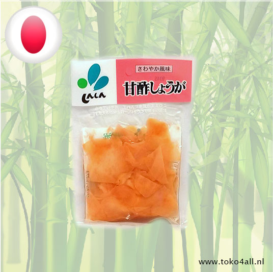 Toko 4 All - Ginger flakes in vinegar 50 gr Shin-Shin