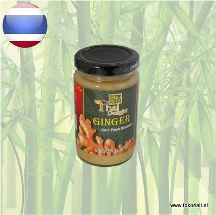 Toko 4 All - My Little Philippines - Ginger Paste 200 gr Thai Delight