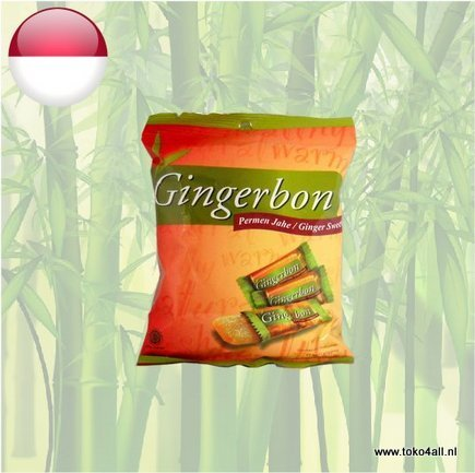 Toko 4 All - Ginger Sweets 125 gr Gingerbon