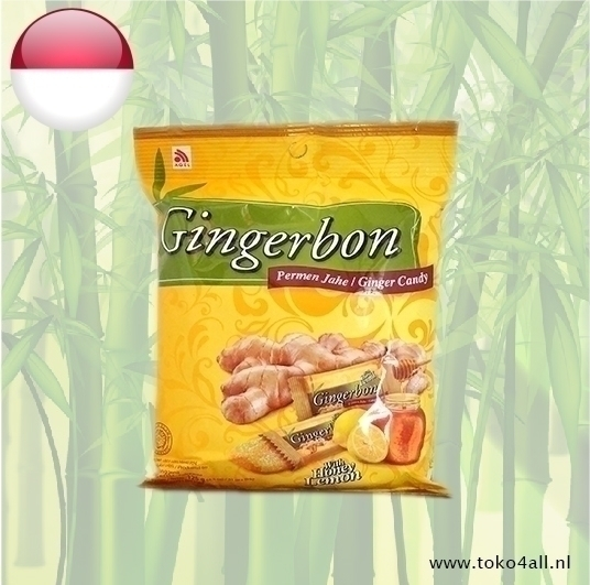 Toko 4 All - Ginger Sweets Honey Lemon 125 gr Gingerbon