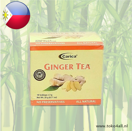 Toko 4 All - Ginger tea 20 gr Carica