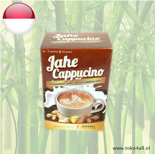 Toko 4 All - Gingerdrink with Cappucino flavor 100 gr Adarasa