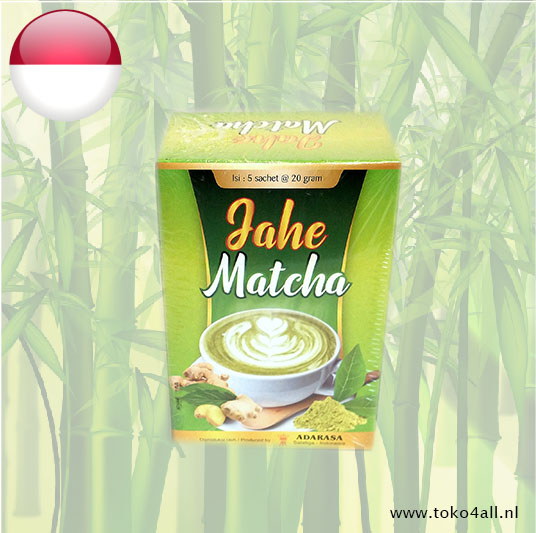 Toko 4 All - Gingerdrink with Matcha 100 gr Adarasa
