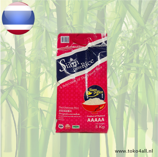 Toko 4 All - Glutinous Rice 5 kg Siam Pure Rice