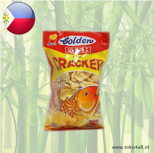 Toko 4 All - Golden Fish Cracker Hot And Spicy 200 gr Narita