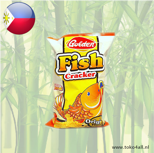 Toko 4 All - Golden Fish Cracker Original 200 gr Narita