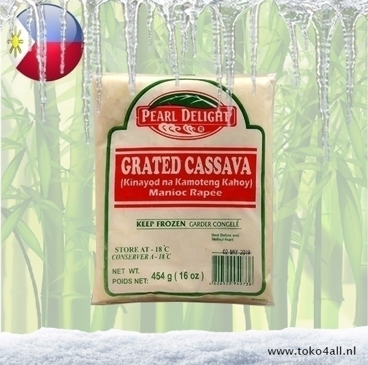 Toko 4 All - Grated Cassava 454 gr Pearl Delight