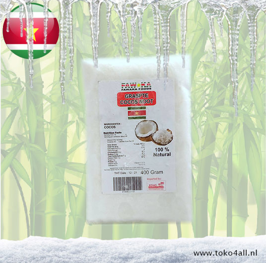 Toko 4 All - Grated Coconut 400 gr Fawaka