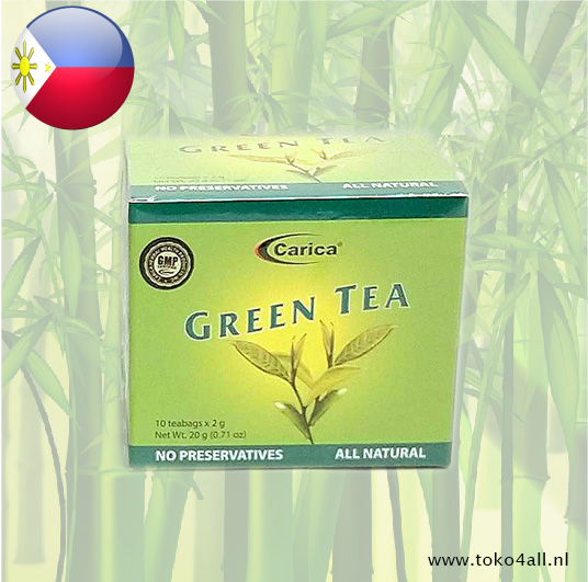 Toko 4 All - Green tea 20 gr Carica