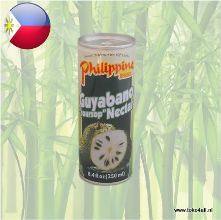 Toko 4 All - Guyabano Nectar Drink 250 ml Philippine Brand