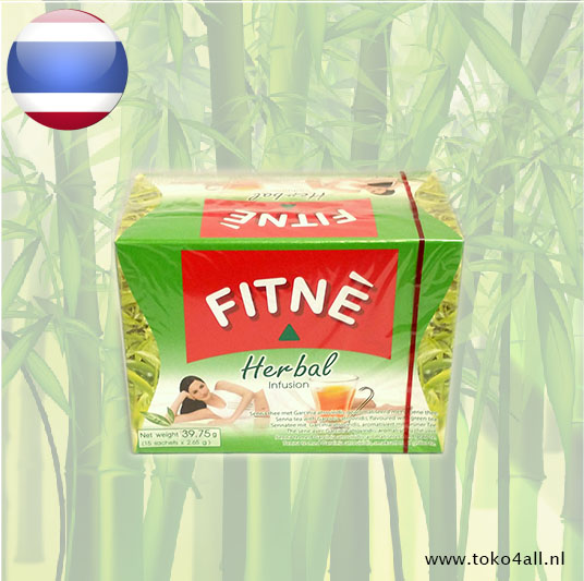 Toko 4 All - Herbal Infusion Green Tea 39.75 gr Fitné
