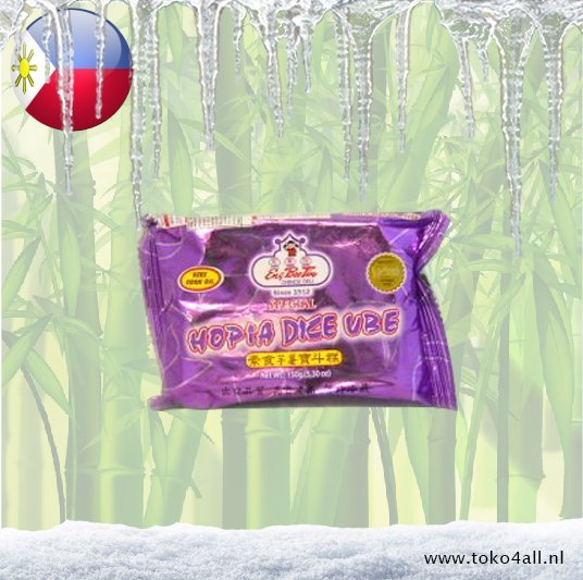 Toko 4 All - My Little Philippines - Hopia Dice Ube 150 gr Eng Bee Tin