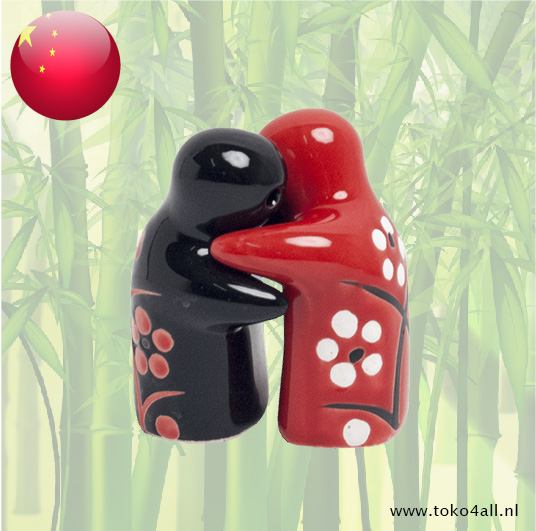 Toko 4 All - Hugging Black and Red Pepper and Salt Set