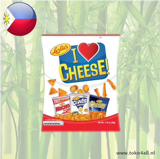 Toko 4 All - My Little Philippines - I love cheese Mix 50 gr Leslies
