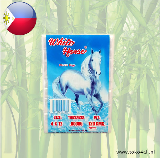 Toko 4 All - Ice Bag Wide White Horse