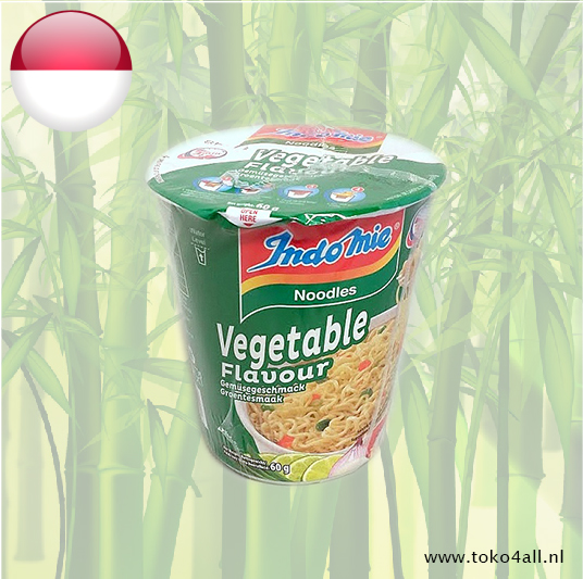 Toko 4 All - Instant Cup Noodles Vegetable 60 gr Indomie