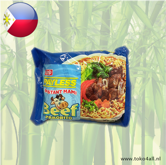Toko 4 All - Instant Mami Beef Paborito 55 gr Payless