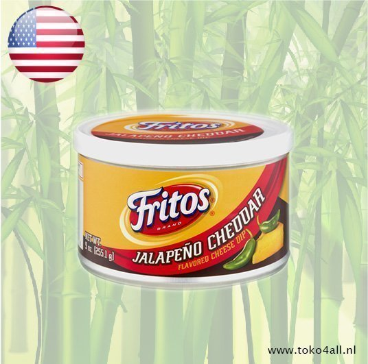 Toko 4 All - Jalapeno Cheddar Cheese Dip 255 gr Fritos