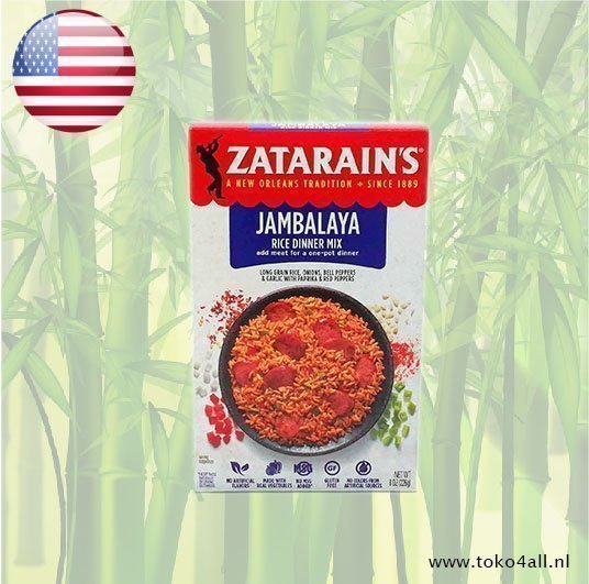 Toko 4 All - My Little Philippines - Jambalaya Rice Dinner Mix 226 gr Zatarains