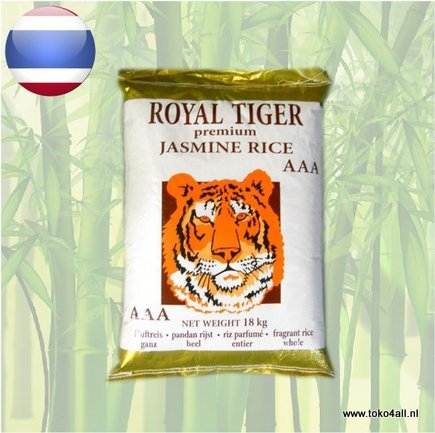 Toko 4 All - My Little Philippines - Jasmine Rice 18 kg Royal Tiger